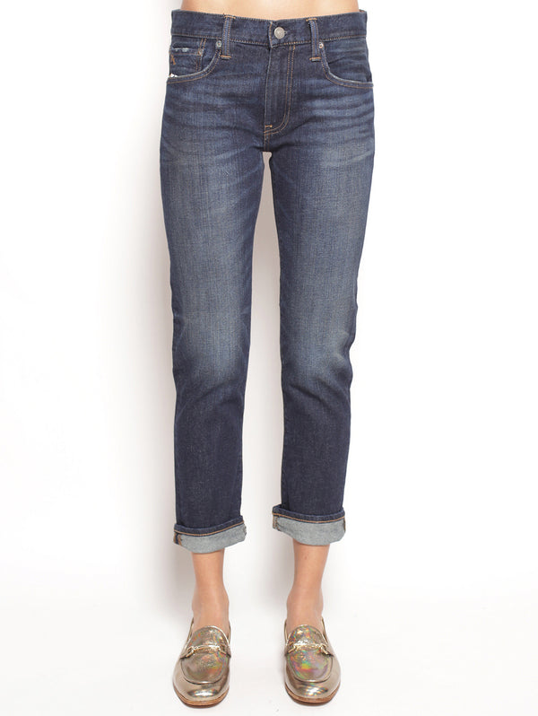 RALPH LAUREN-Jeans Cropped Blu-TRYME Shop