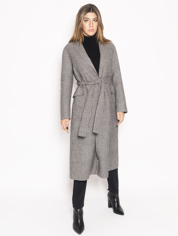 Max Mara-Cappotto in lana - Scout Nero-TRYME Shop
