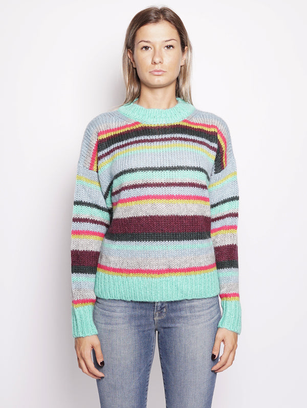 MAGLIONE - RAFARI MULTICOLOR-Maglieria-ESSENTIEL-TRYME Shop