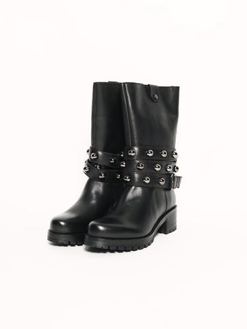 METALLICA BOOT 1808 LEATHER BLACK Nero CULT TRYMEShop