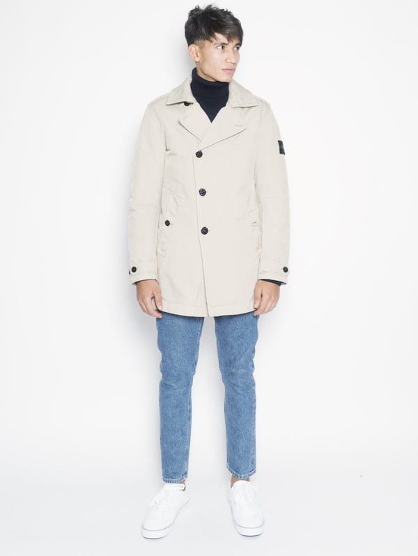 STONE ISLAND-Trench in David Tc 45249 Beige-TRYME Shop