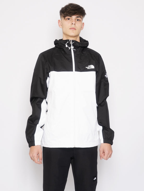 THE NORTH FACE-Giacca con Cappuccio Mountain Q Bianco-TRYME Shop
