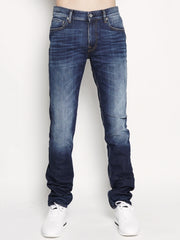 J2ZGA SK_REAL - Denim DARK BLUE Blu