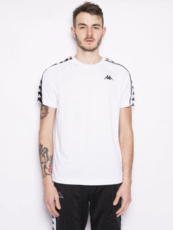 222 BANDA COENLY SLIM Bianco-T-shirt-Kappa-TRYME Shop