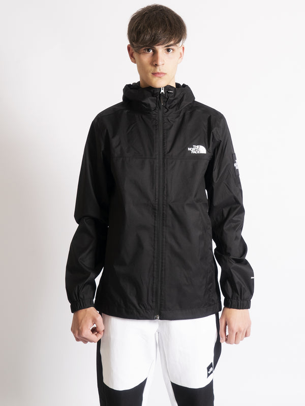 THE NORTH FACE-Giacca con Cappuccio Mountain Q Nero-TRYME Shop