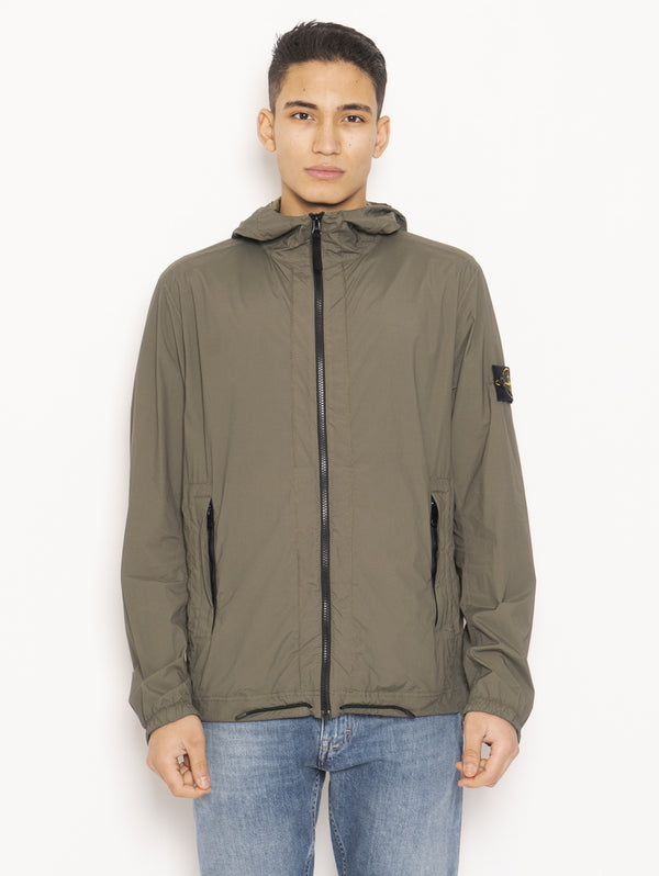 STONE ISLAND-Giaccheto Packable 43831 Verde-TRYME Shop