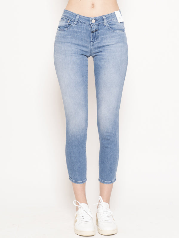 CLOSED-Jeans Baker Slim Blu-TRYME Shop