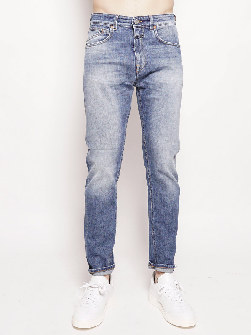 CLOSED-Jeans Cooper Tapered Organic Blue-TRYME Shop