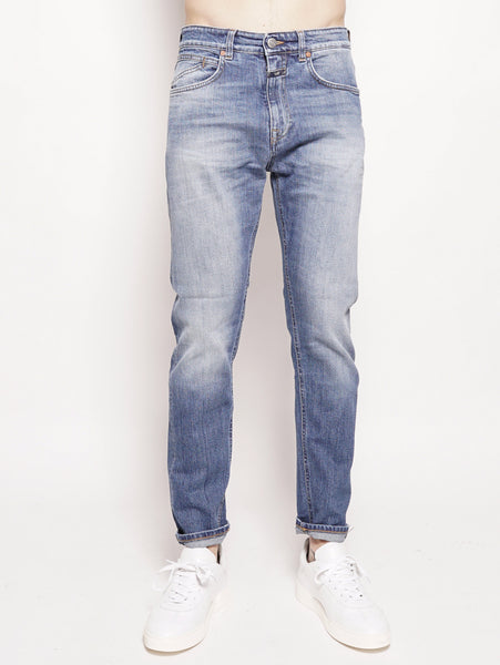 Cooper Tapered Organic Blue Denim Denim