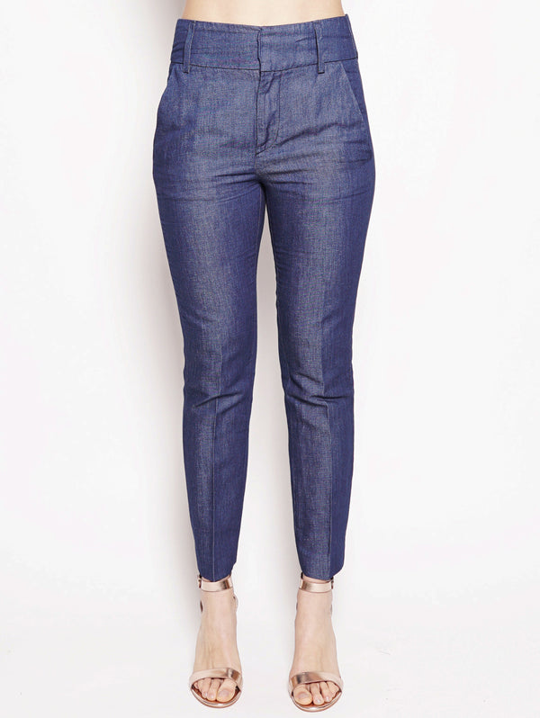 dondup-Pantalone Chic in chambry vita alta Denim-TRYME Shop