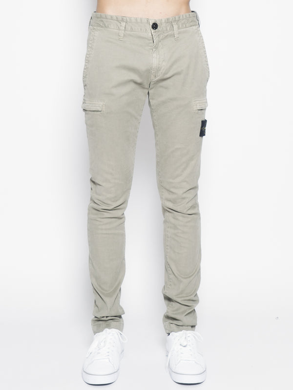 321L1 Tinto Old - Pantalone Cargo Verde