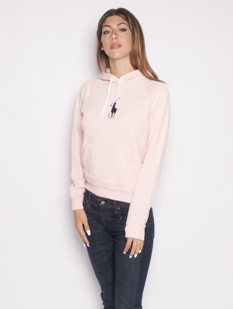 RALPH LAUREN-Felpa Big Pony Rosa-TRYME Shop