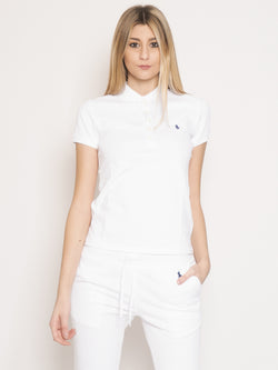 RALPH LAUREN-Polo Slim Fit Bianco-TRYME Shop