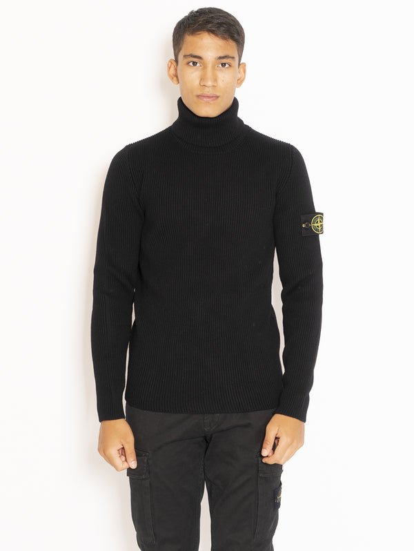 STONE ISLAND-Dolcevita a Costa Inglese - Nero-TRYME Shop