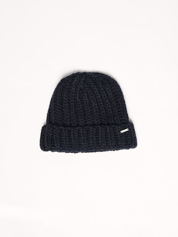 W'S CHUNKY HAT Navy-Cappelli-WOOLRICH-TRYME Shop