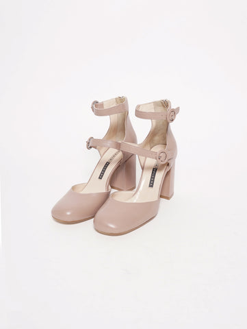 CHIARINI BOLOGNA Mary Jane in pelle - 924 Blush Trymeshop.it