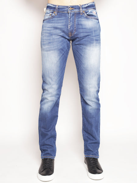 ROY ROGERS Jeans Cult Superior Denim Elast. Nocaine Denim medio Pantaloni - TRYMEShop