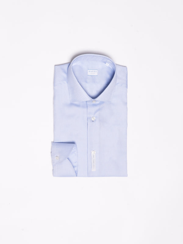 XACUS-Camicia Wrinkle Free in Oxford - Blu-TRYME Shop