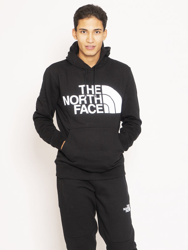 THE NORTH FACE-Felpa con Cappuccio Basica - Nero-TRYME Shop