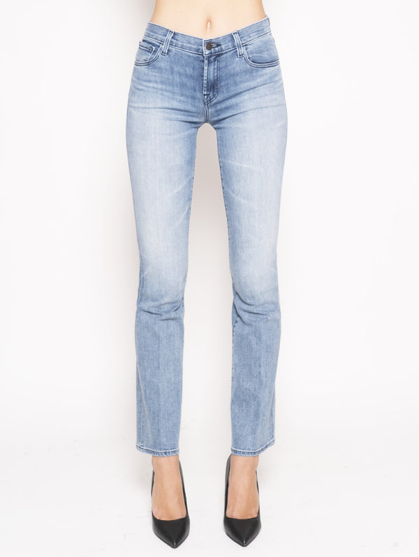 J BRAND-Sallie Mid-Rise Boot Cut In Fix Up Blu-TRYME Shop