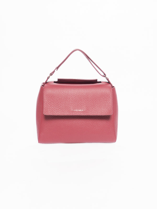 ORCIANI-Borsa Sveva Medium Soft Rosso-TRYME Shop