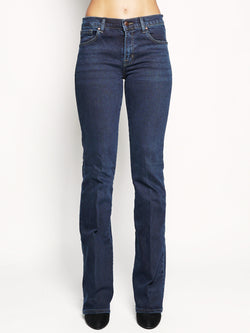 J BRAND-Jeans Litah High-Rise Boot Dark Blu-TRYME Shop