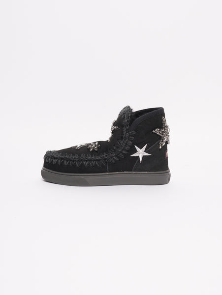 Eskimo Sneaker Star Patches Nero