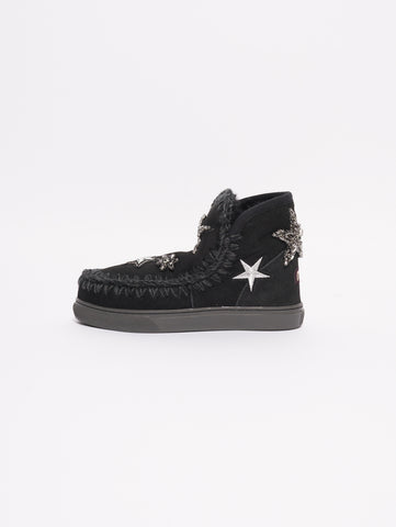 MOU Eskimo Sneaker Star Patches Nero Trymeshop.it