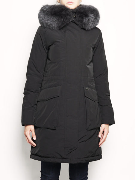 W'S MILITARY PARKA Nero WOOLRICH TRYMEShop