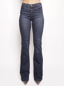 J BRAND-Jeans Maria Flare High-Rise Denim-TRYME Shop