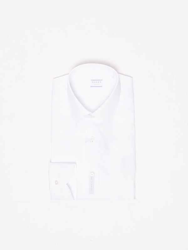 XACUS-Camicia Wrinkle Free - WF558ML 11311 Bianco-TRYME Shop