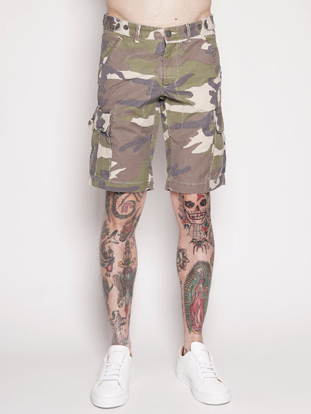 Camou Cargo Short Camouflage