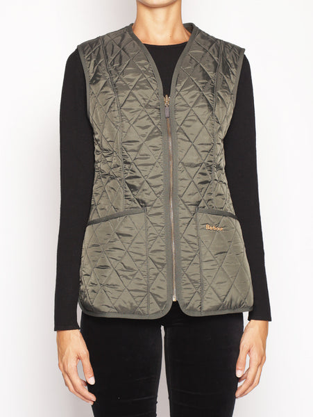 Barbour Fleece Betty - LQU0326OL71 BACPS1025LINER VERDE Gilet - TRYMEShop