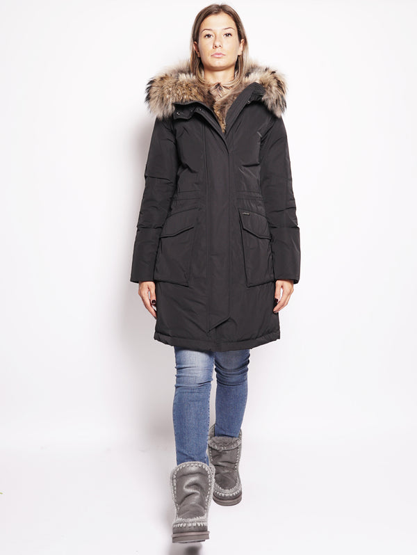 W'S MILITARY PARKA Nero-Parka-WOOLRICH-TRYME Shop