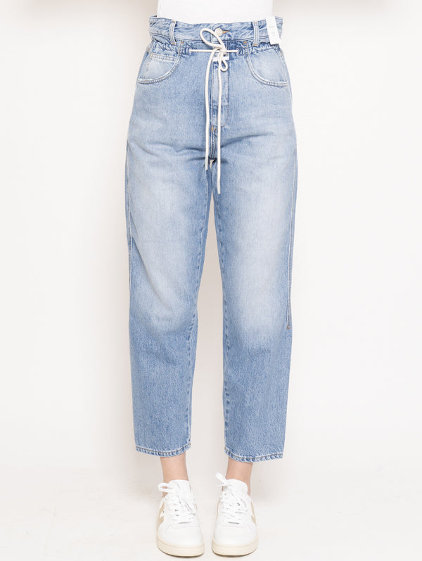 CLOSED-Jeans con Coulisse Lexi Blu-TRYME Shop