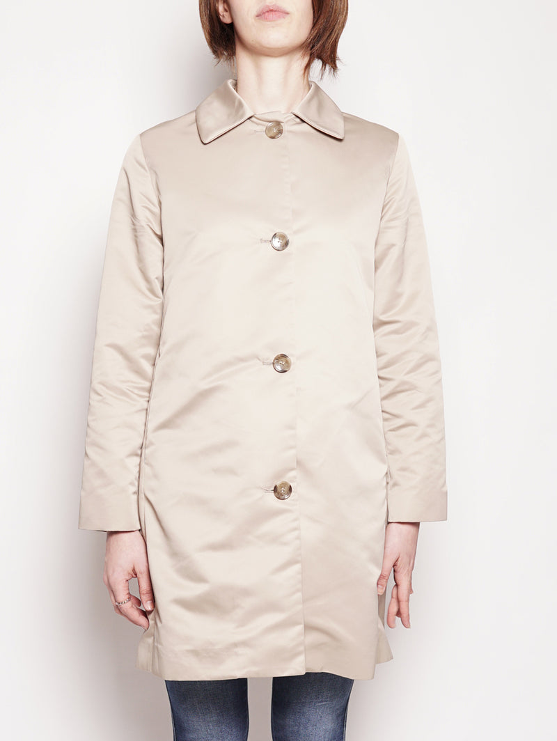 ADD-Cappotto in Duchesse Beige-TRYME Shop