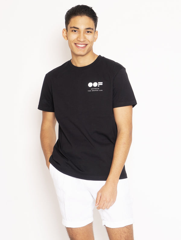 OOF-T-shirt con Stampa Nero-TRYME Shop
