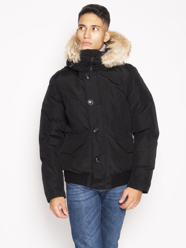 WOOLRICH-Bomber Polar in Ramar Nero-TRYME Shop