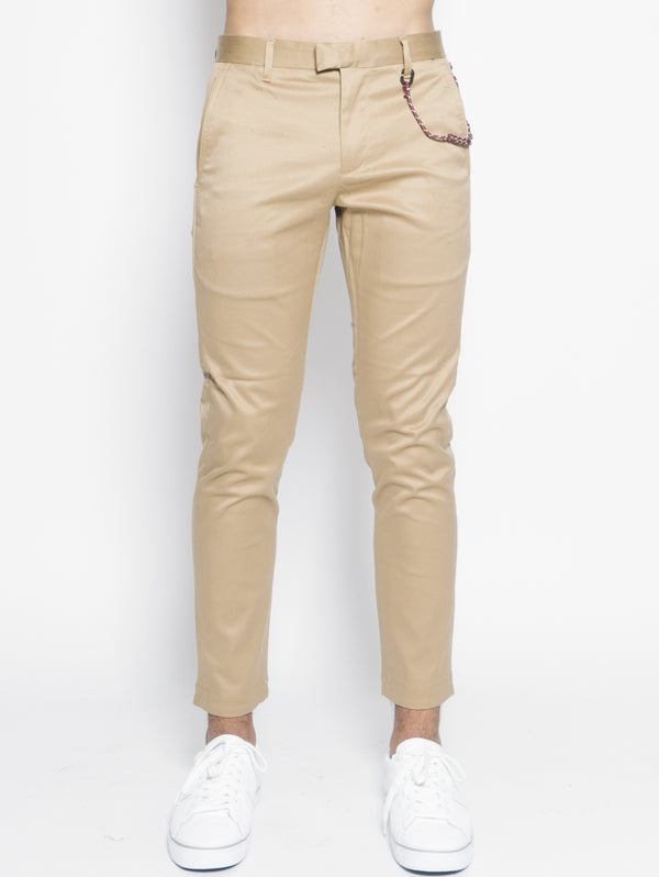 CLOSED-Chino in Cotone Giapponese Beige-TRYME Shop