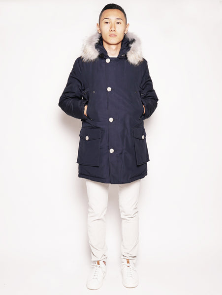 ARTIC PARKA DF Blu