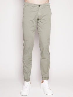 40WEFT-LENNY - Pantalone chinos Verde-TRYME Shop