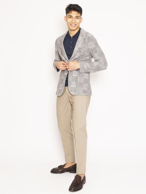 Multicolor Houndstooth Jacket