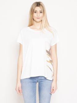 CLOSED-T-shirt con Stampa Bianco-TRYME Shop