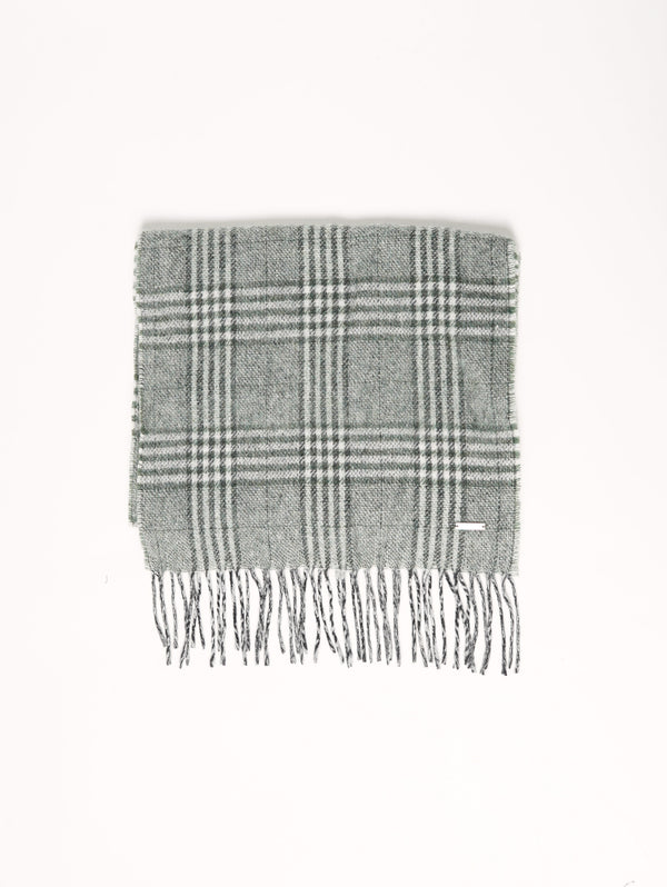 Classic Scarf Verde-Sciarpe-WOOLRICH-TRYME Shop