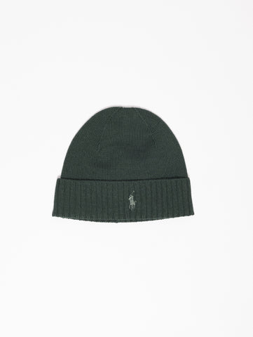 RALPH LAUREN Cappello in lana merino Verde Trymeshop.it