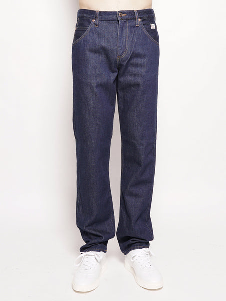 Normal Authentic Denim Rinse Denim Scuro