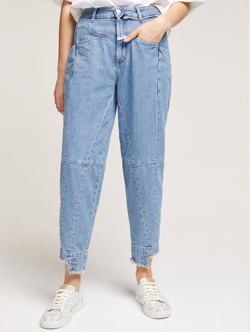 CLOSED Denim Pedal Pusher Closed per Girbaud Denim Trymeshop.it