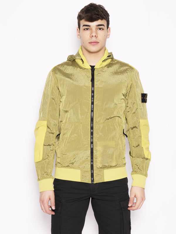 STONE ISLAND-Giubbotto in Nylon Metal 42932 Giallo-TRYME Shop