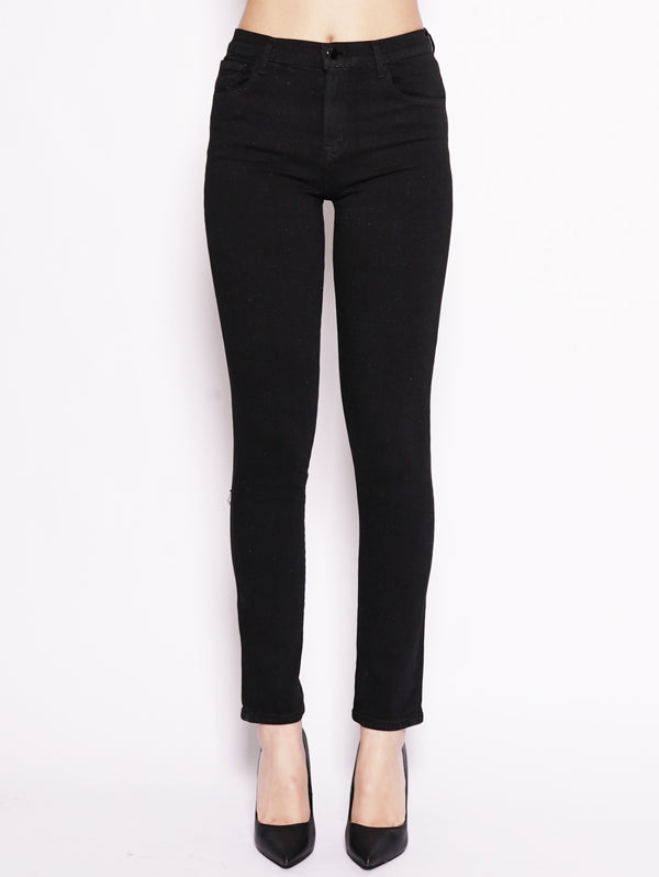 J BRAND-Jeans Ruby High Rise Cigarette Nero-TRYME Shop