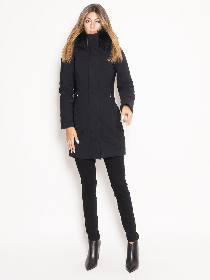 RRD-Parka Winter Long Lady F Nero-TRYME Shop
